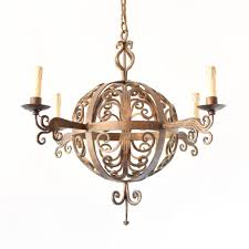 Orb Light Fixture by Iron Curl Orb Chandelier The Big Chandelier