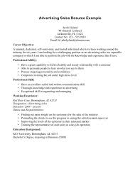 objective on resume exles resume objectives for sales career summary as alternative to