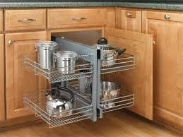 Corner Kitchen Storage Cabinet Corner Kitchen Cabinet Storage Solutions Plain On Kitchen For 25