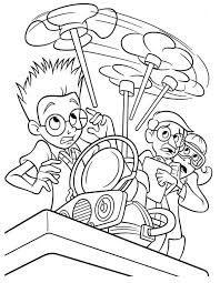 lewis invention wrong meet robinsons coloring pages