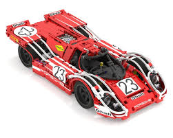 porsche lego set lego moc 3600 porsche 917k no 23 technic u003e model u003e race 2015
