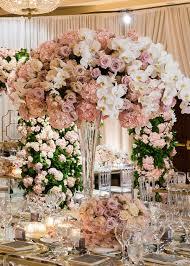 dreamy luxury wedding tall wedding centerpieces wedding