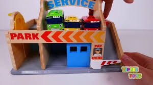 garbage trucks for kids surprise garbage truck fire truck tow truck tractor and bulldozer with paw