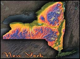 Rochester New York Zip Code Map by New York Topographic Map New York Map