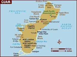 map usa lonely planet map of guam