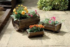 wooden garden troughs and planters u2014 farmhouse design and