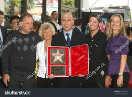 Howie Howie Mandel Wife Terry Family Hollywood Stock Photo 107432468