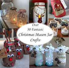 over 30 fantastic christmas mason jar crafts christmas