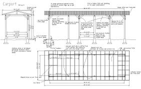 plan maison en u ouvert exemple d u0027un carport fait maison ouvert en bois plans u0026 maisons