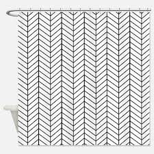 black and white shower curtains black and white fabric shower