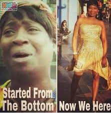 Sweet Brown Meme - sweet brown started from the bottom now we here nowaygirl