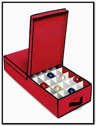 cardboard ornament storage box with dividers home design ideas