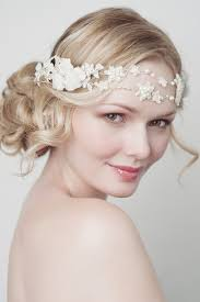 floral hair accessories enchanting floral hair accessories for your wedding
