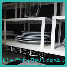 ikea shelf extenders perfect for pantry u0026 kitchen organization