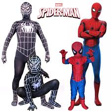 spiderman homecoming costume new kids teen boys superhero cosplay