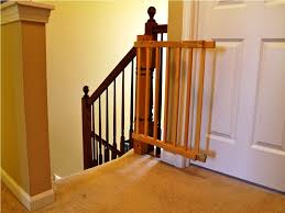 Baby Gate For Bottom Of Stairs Banisters Best Baby Gates For Stairs With Banisters House Exterior And