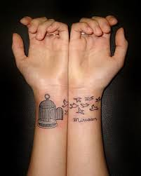 tiny love matching tattoo ideas inspiration photos