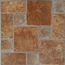 brick vinyl tile