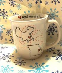 good morning beautiful good morning handsome mug coffee coffee