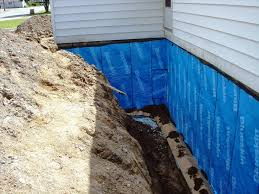 waterproofing basement external drainage system u2014 optimizing home