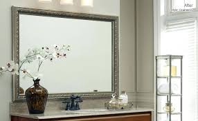 Frames For Bathroom Mirrors Lowes Mirror Frame Kit Lowes Bathroom Mirror Frame Kit Houses For Rent