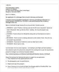 visa application cover letter 28 images cover letter german