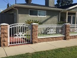 fences iron works in carson gates fences screen