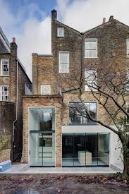 london townhouse warehouse architecture minimal design