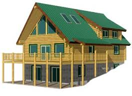 chalet style house plans log home plans
