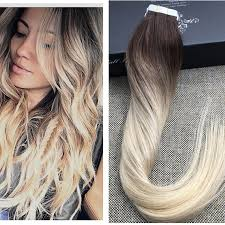 balayage hair extensions shine ombre human hair balayage skin weft seamless