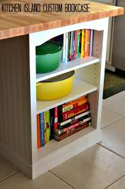 Kitchen Island With Bookshelf Kitchen Wonderful Diy Bookcase Kitchen Island F4nyoszhr0b38mj