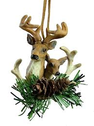 deer pair pine cone camo camouflage