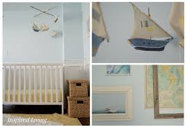 inspired living nautical nursery tour