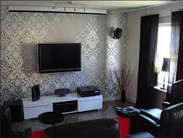 wohnzimmer tapeten gestaltung coole design mit tapeten muster an - Wohnzimmer Tapeten Gestaltung