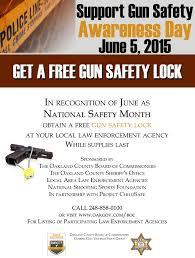 local law enforcement agencies offering free gun safety lock