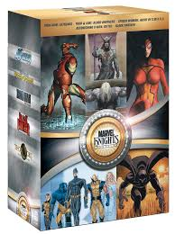 amazon com marvel knights collection iron man black panther
