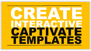 create interactive captivate templates youtube