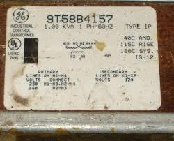 240 460 transformer wiring