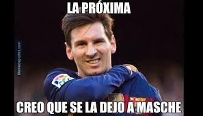 Memes De Lionel Messi - lionel messi el penal fallado con el barcelona le gener祿 una