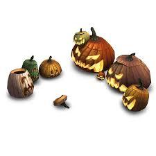 halloween pumpkin props 3d props bitgem