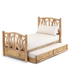 trundle rustic custom daybed with trundle by la lune collection