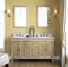 Rustic Wood Bathroom Vanity - vanities rustic wood double sink vanity rustic double bath