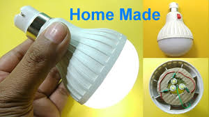 rechargeable light for home portable led light bulb home made rechargeable youtube