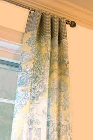 Yellow And Blue Curtains Blue Toile Curtain Panels And Yellow Curtains Wall Castle