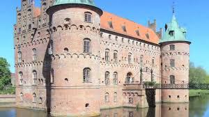 travel denmark visiting egeskov castle in funen youtube