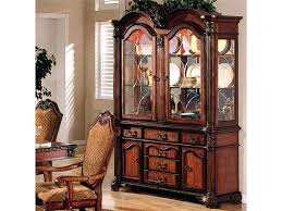 curio cabinet ashley furniture lighted curio cabinet corner