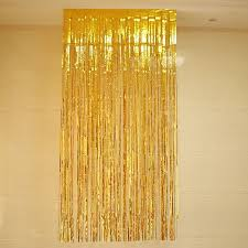 wedding backdrop accessories foil shimmer glitter tinsel party curtains metallic backdrop photo