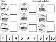 the ultimate summer review packet for kindergarten ten frame cut