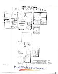 david weekley u0027s the monte vista floor plan stapleton