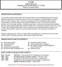exles for resume personal statement exles resume exles of resumes